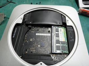 Mac mini 2012 inside