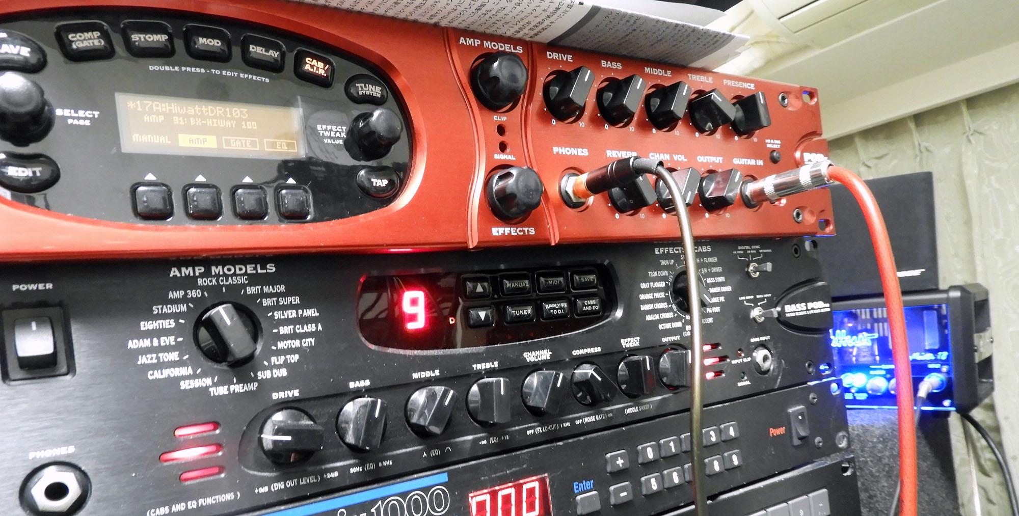 Pod XT Pro & Bass Pod Pro
