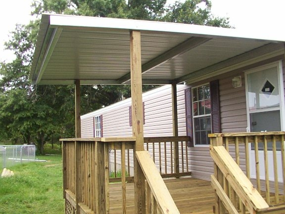 Mobile Homes Minden Bossier City Shreveport La Sunset Decks | Wood Mobile Home Steps | Double Wide | Pressure Treated | Temporary | Wood Camper | Stained Wood