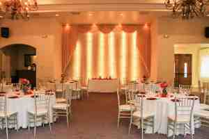 garden wedding venue las vegas chiavari chairs