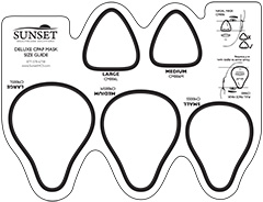 Cpap mask sizing guide