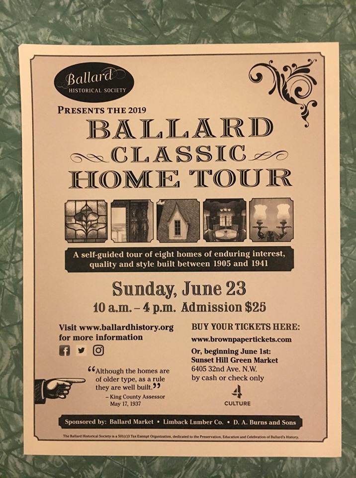 Ballard Classic Home Tour 6/23/19