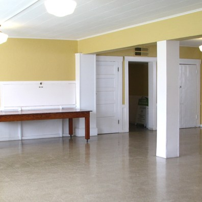 Lower Hall of clubhouse