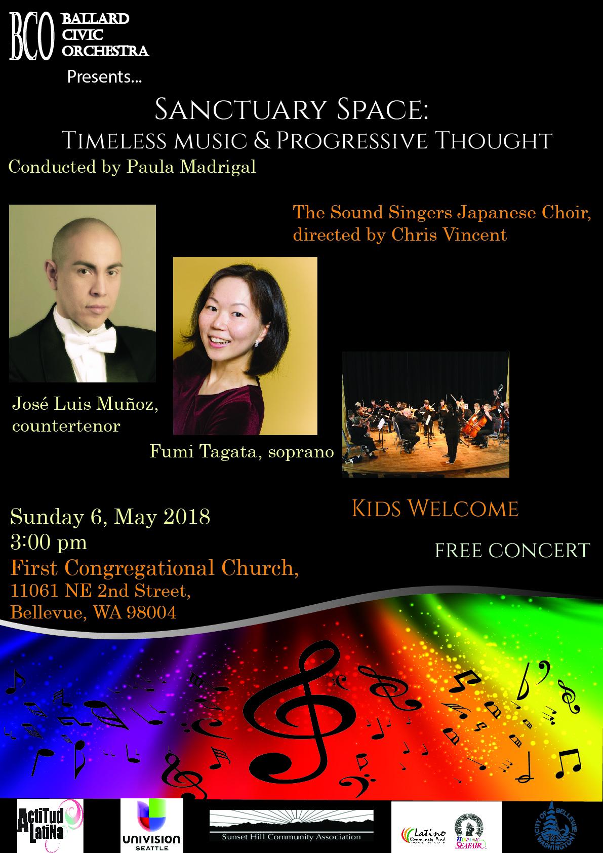 Ballard Civic Orchestra Concert 5/6/18
