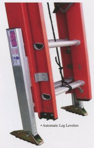 buy automatic leg levelers for extension ladders