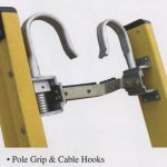 buy pole grip and cable hooks for extension ladders