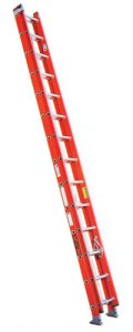 ez lift fiberglass ladder as light as aluminum ladder