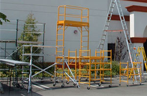 rent or buy scaffolding at Sunset Ladder & Scaffold