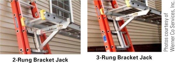 2 and 3 rung ladder jacks