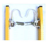 hook and v-rung optional accessory for easylift fiberglass ladders