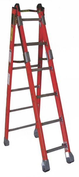 sunset ladder brand fiberglass combination ladder