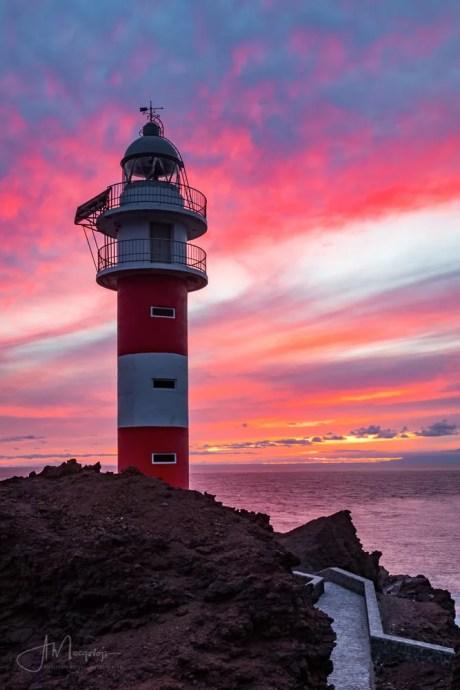 Sunset at Punta de Tent