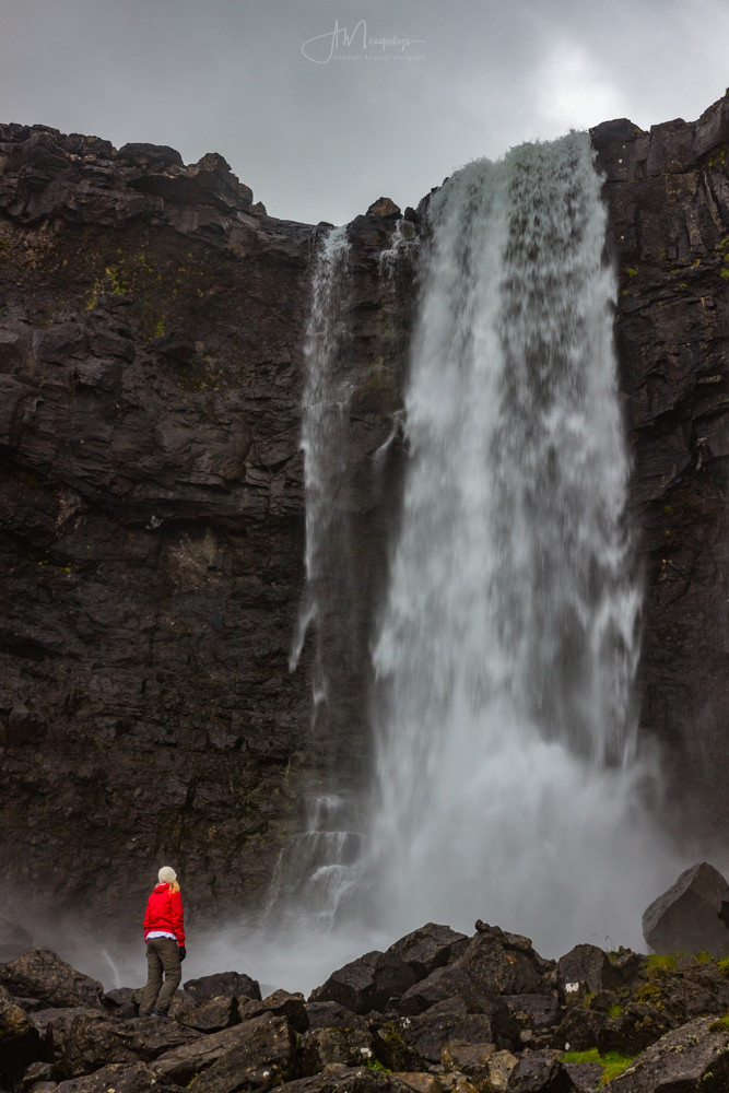Fossa waterfall after rain