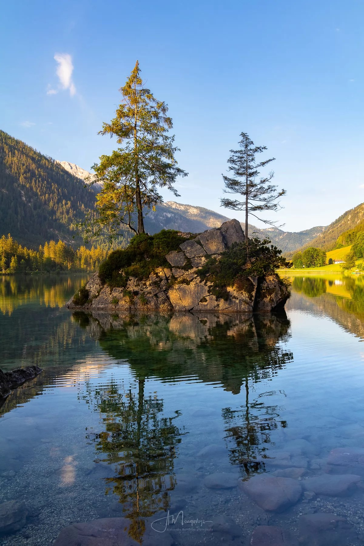 Morning on Hintersee