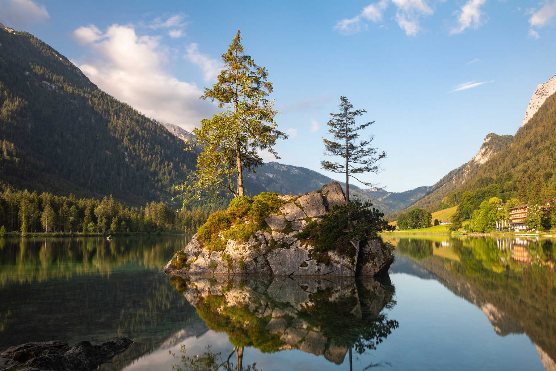 Morning Light on Lake Hintersee