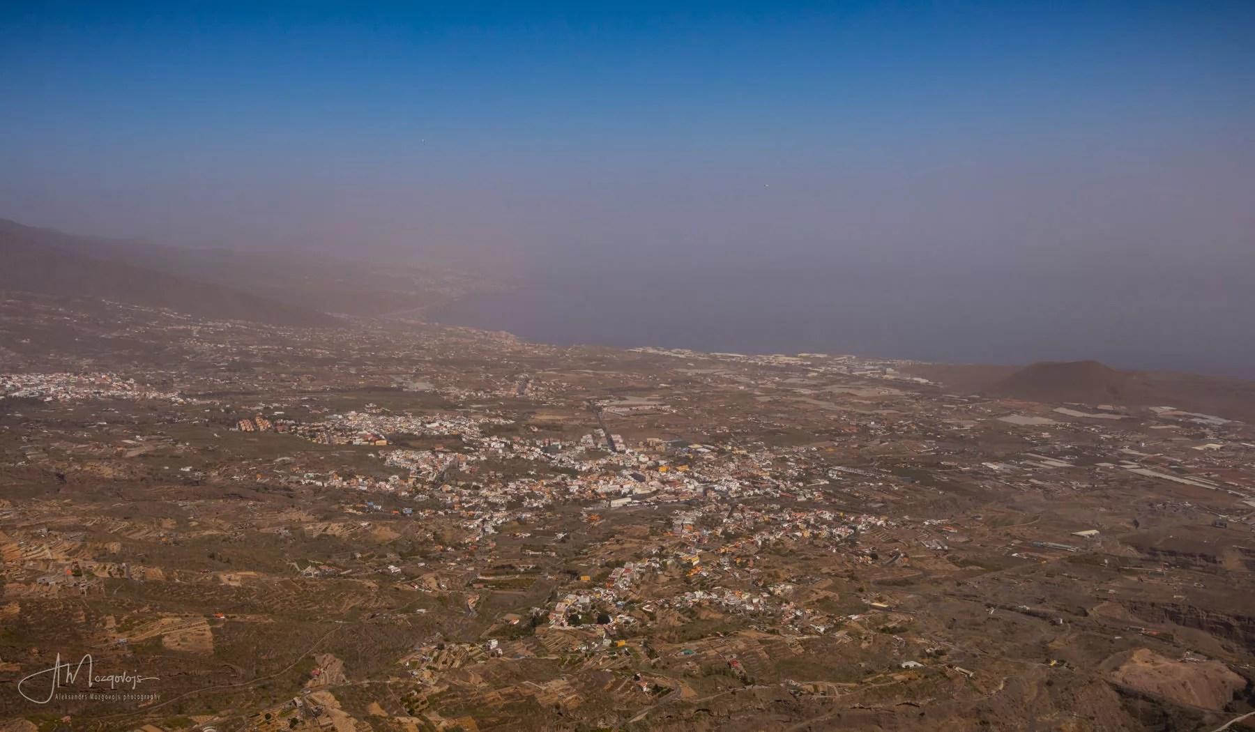 Coastal View from the hike to Ventanas de Güimar