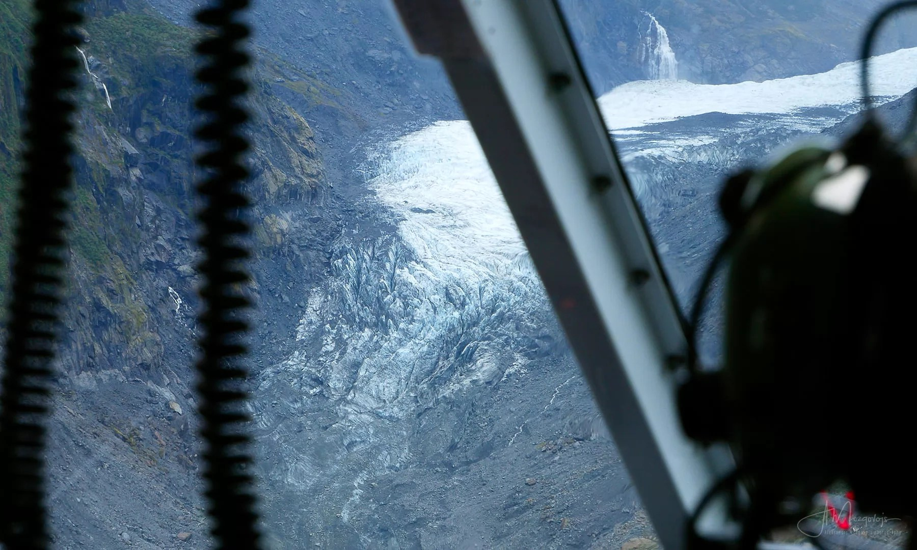 First View of Fox Glacier