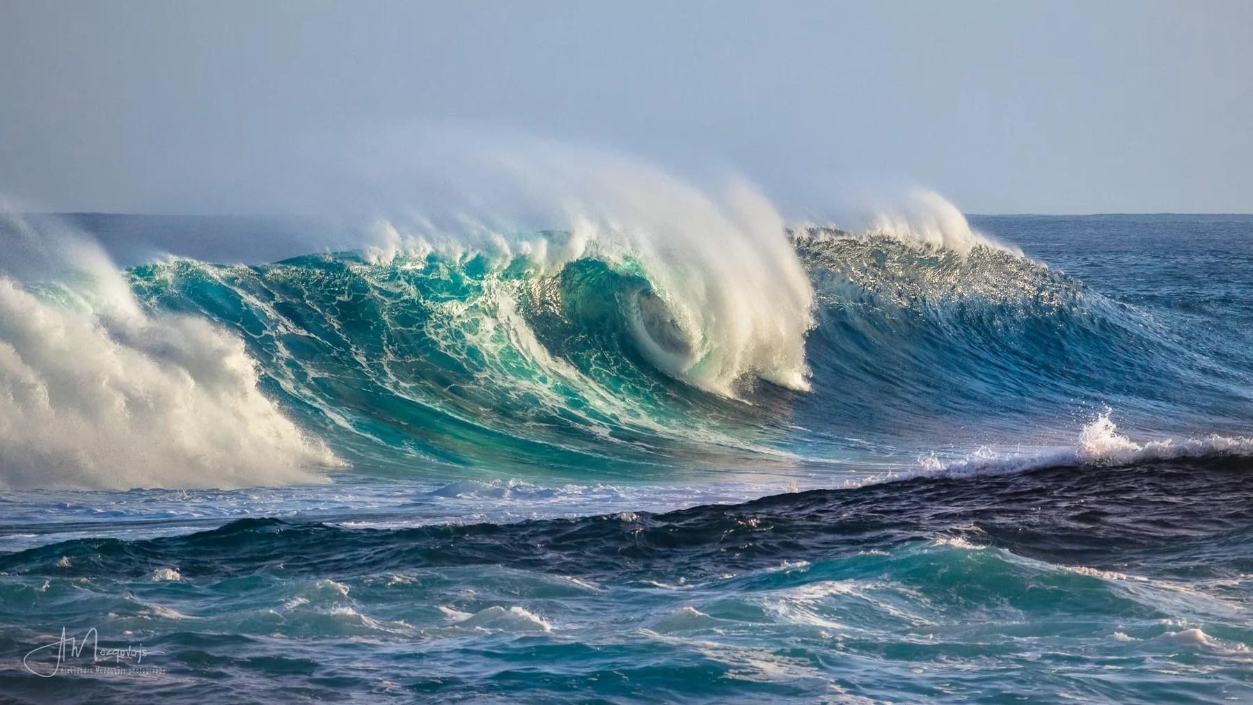 Мощь океана во всей красе