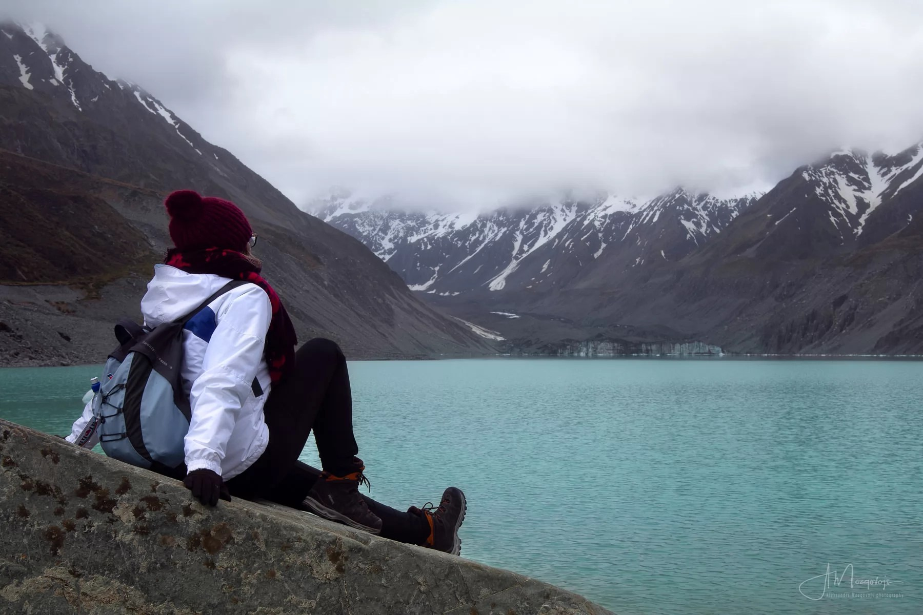 Enjoying the Hooker Lake