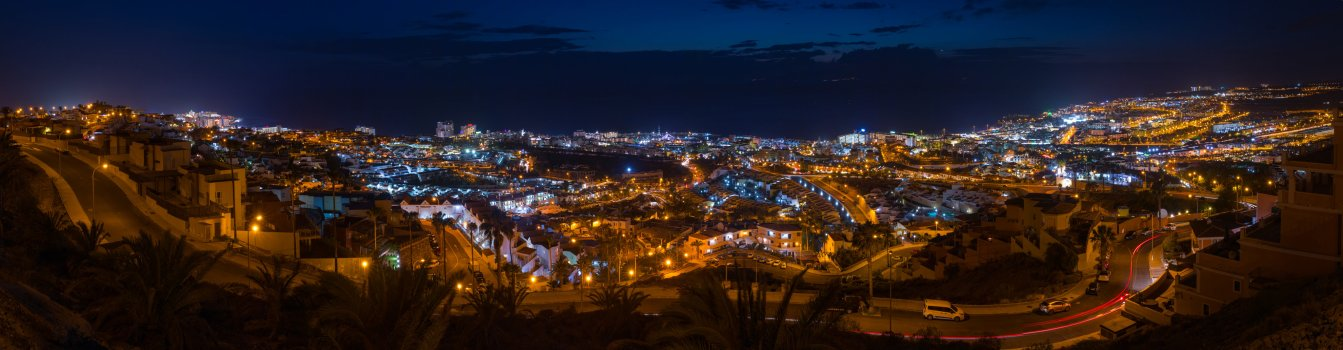 Costa Adeje at Night