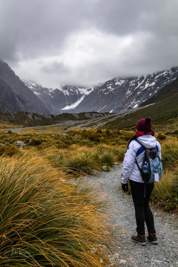 Hiking the Hooker Valley Track, Mt. Cook National Park, New Zealand