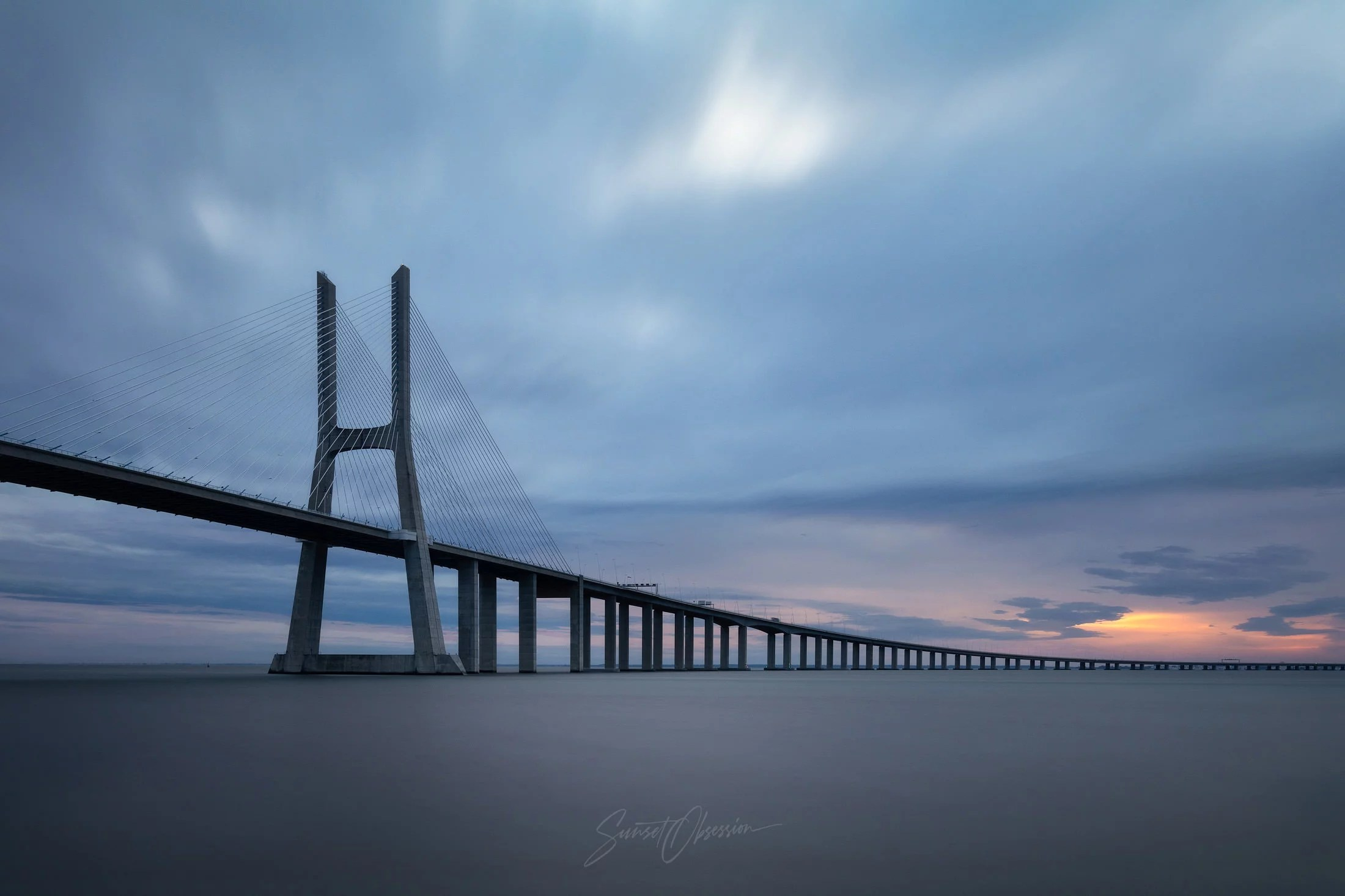 Vasco da Gama Bridge is a great photography location for our Lisbon photography guide