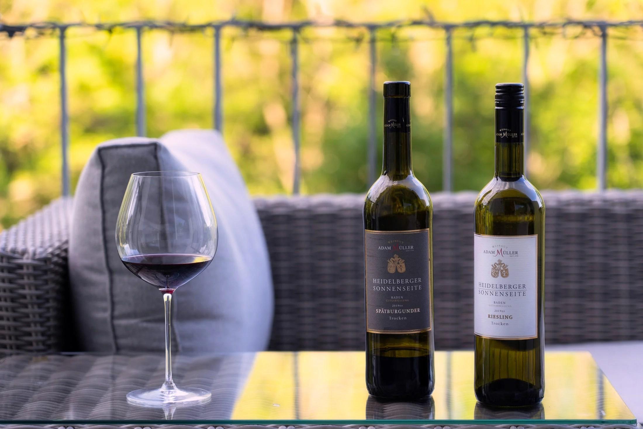 Два короля немецких вин - Шпетбургундер (он же Пино-нуар) и Рислинг