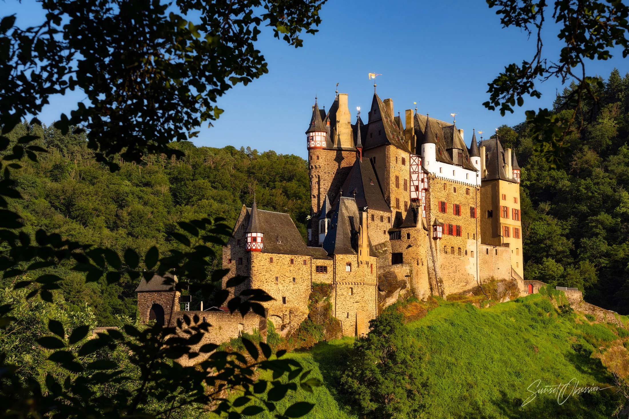 Burg Eltz from the western viewpoint