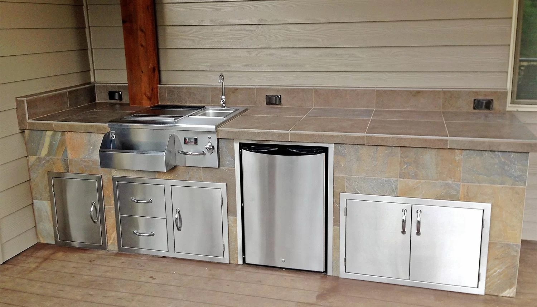 custom outdoor kitchens ss kitchen equipments sunset living