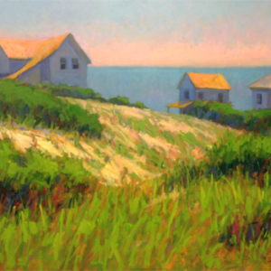 Mike Rooney, Hilltop Cottages, 30x40, oil