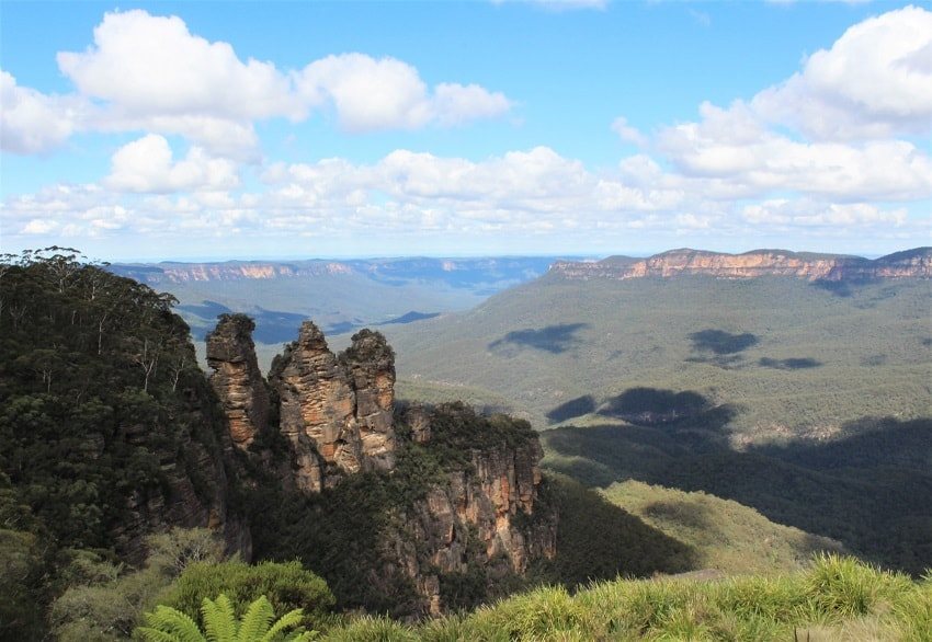 how to get to three sisters blue mountains