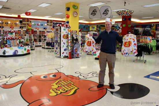 Jelly Belly Visitor Center - Candy Shop
