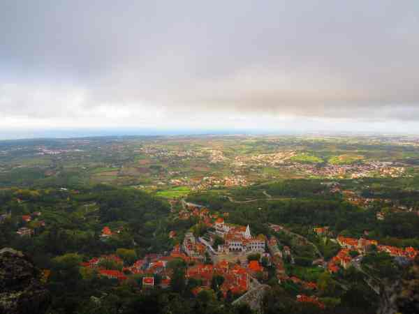 View over Sintra