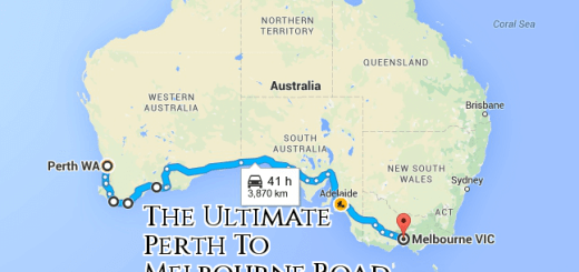 Perth TO Melbourne Road Trip