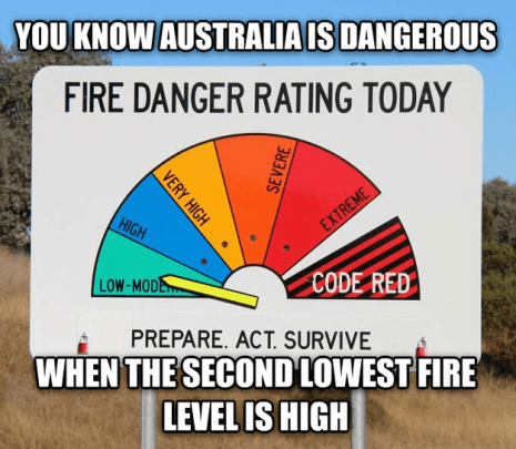 moving to australia the outback fire warning