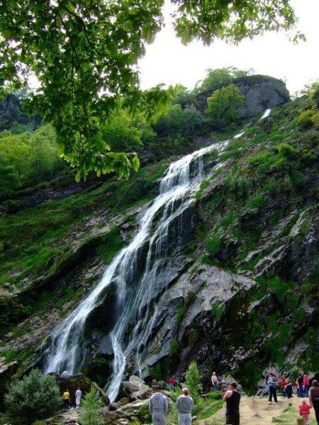 Seeing biggest waterfall in Ireland