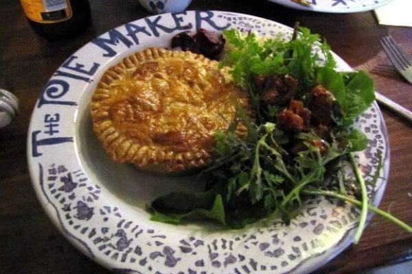 Try delicious pie in Galway