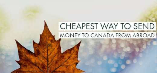 Cheapest Way To Send Money To Canada From Abroad 2018