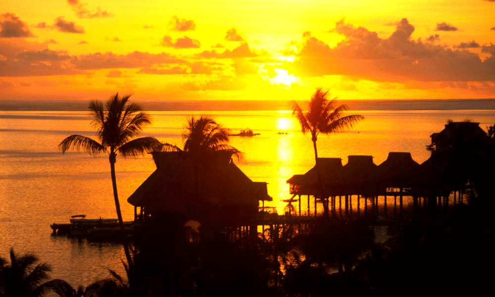 Bora Bora Tahiti - Best Sunset Locations Around The World