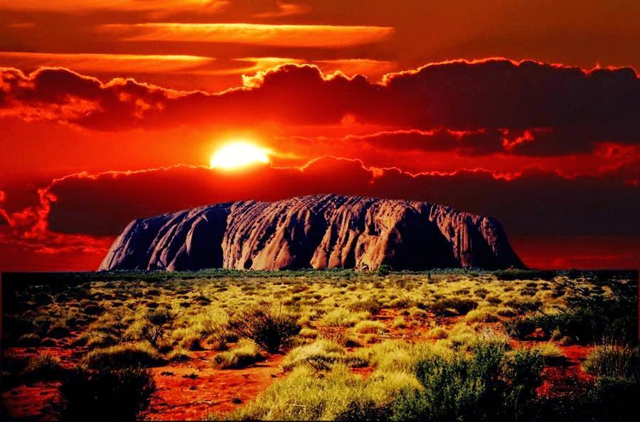 Uluru Australia - Best Sunset Locations