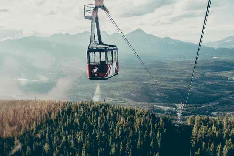 Jasper Sky Tram Canadian Rockies Road Trip