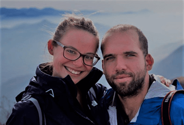 One and a half backpacks - Incredible Couple Travel Bloggers To Follow