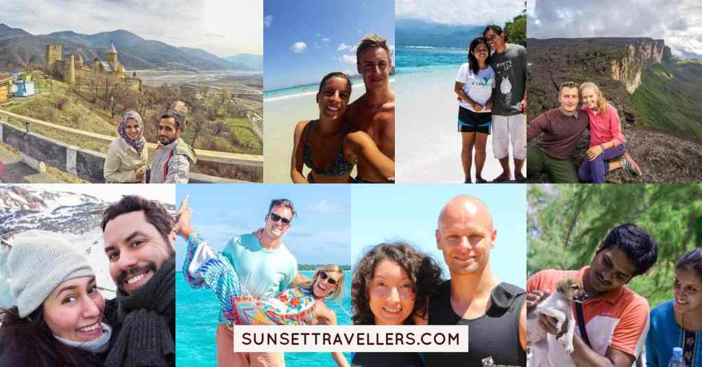 Top couple travel bloggers