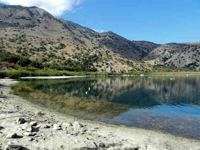 10 Breathtaking Places To Visit In Crete This Year - Lake Kournas