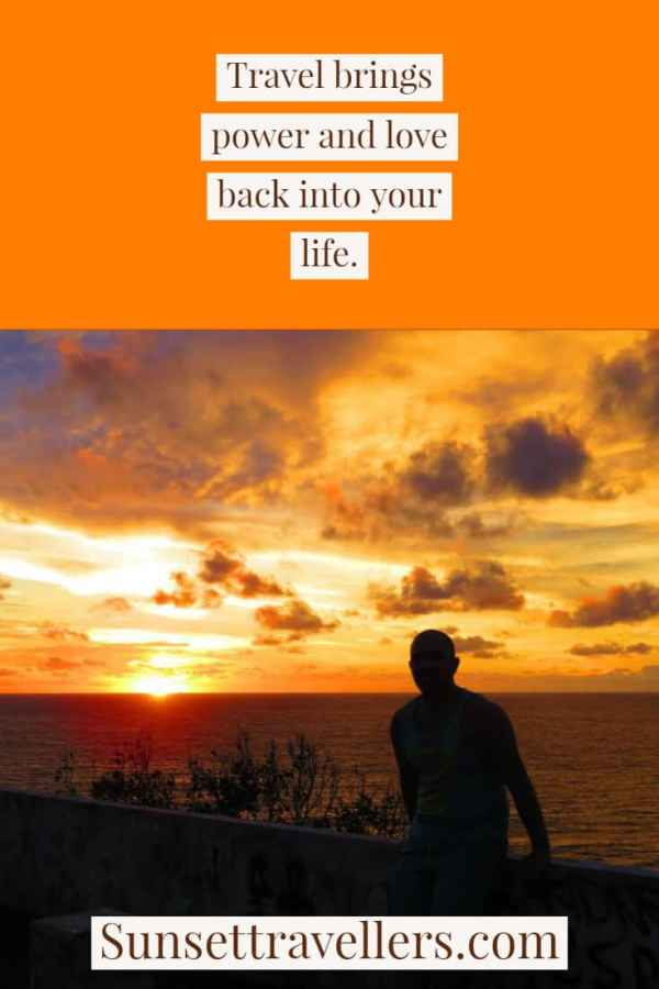 """Travel quotes - """"Travel brings power and love back into your life"""". This is one of the most inspiring travel quotes of all time."""