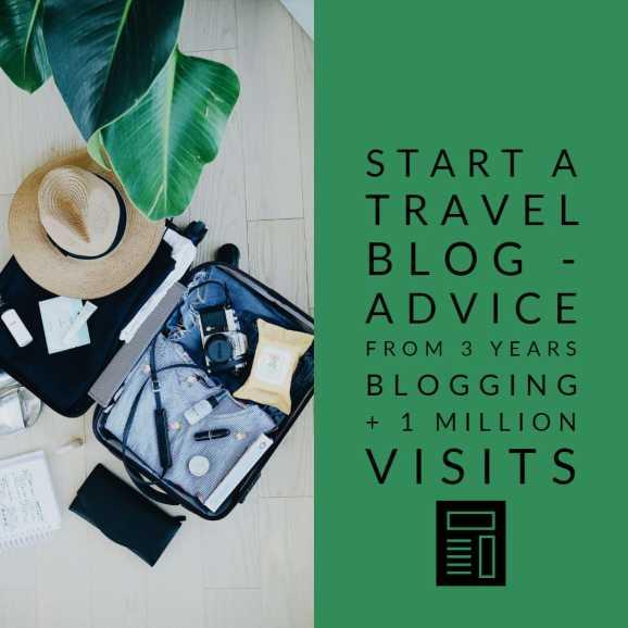 Start a travel blog and make money online