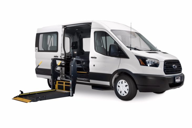 wheelchair van parts wicker outdoor chairs australia ford transit vans handicap and gurney accessible