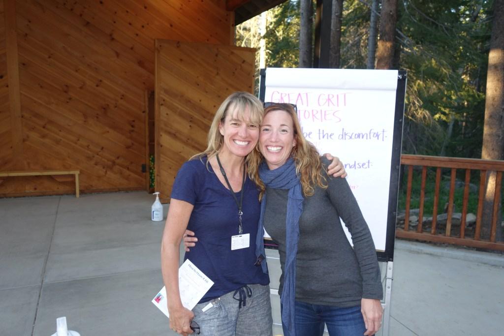 Audrey & Christine at Camp Staff Training, 2016
