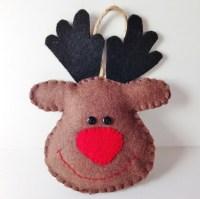 door decoration reindeer patterns | just b.CAUSE