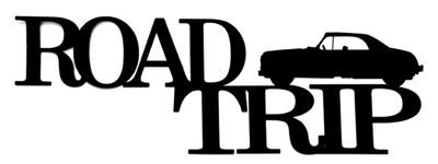 Road Trip Scrapbooking Paper Scrapbook Stickers